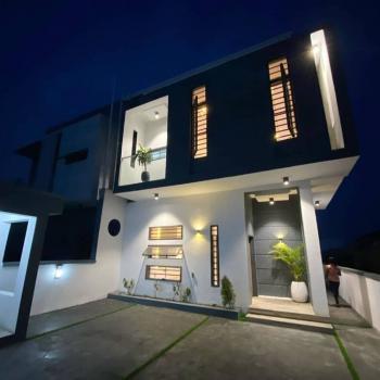 Luxury 4 Bedroom Semi Detached Duplex with a Room Bq, Off Orchid Road, Lafiaji, Lekki, Lagos, Semi-detached Duplex for Sale