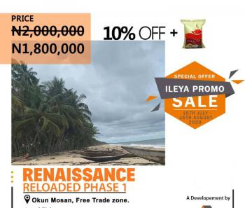 Estate Land, Beach Front, After Dangote Refinery, Eleko, Ibeju Lekki, Lagos, Residential Land for Sale