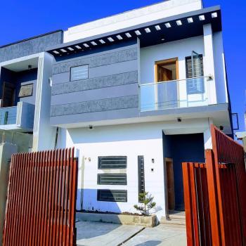4 Bedroom Semi Detached Duplex, in a Serviced Estate Around Orchid Hotel Road, Lafiaji, Lekki, Lagos, Semi-detached Duplex for Sale