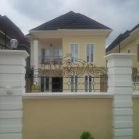5 Bedroom Detached Duplex (all En-suite) With Jacuzzi, Fitted Kitchen, Family Lounge, Ante Room And 2 Rooms Boys Quarters, Gra, Magodo, Lagos, 5 Bedroom, 6 Toilets, 5 Baths House For Sale