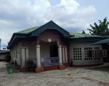 a Well Finish 4 Bedroom Bungalow with Standard Facilities, Farm Road Ll, Eliozu, Port Harcourt, Rivers, Detached Bungalow for Sale