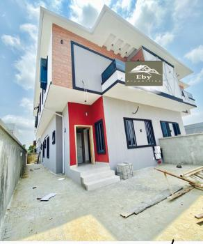 Newly Built 4 Bedrooms Semi Detached Duplex with Bq, Osapa, Lekki, Lagos, Semi-detached Duplex for Sale