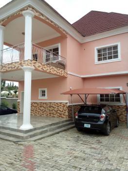 Massive 5 Bedrooms Duplex with 2 Bed Bq, Serene Estate After Charlie Boy, Gwarinpa, Abuja, Detached Duplex for Sale