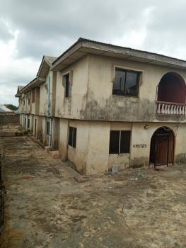 a Block of 4 Units 3 Bedroom Flat, Asafa Street,isuti Road, Abioye Bus Stop, Igando, Ikotun, Lagos, Block of Flats for Sale