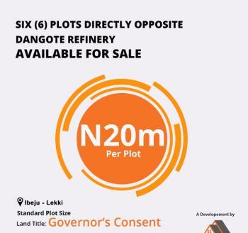 Estate Land, Eleko, Ibeju Lekki, Lagos, Commercial Land for Sale
