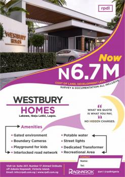 Westbury Homes., Lakowe, Ibeju Lekki, Lagos, Residential Land for Sale
