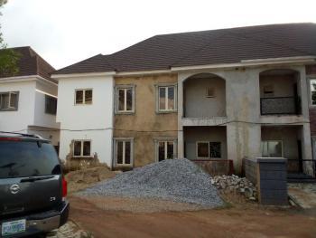 Semi Detached 4 Rooms Duplex with Bq, Clean and Serene Estate, Wuye, Abuja, Semi-detached Duplex for Sale