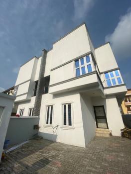 Well Built 4 Bedroom Semi Detached Duplex with B.q, Chevron, Lekki, Lagos, Semi-detached Duplex for Sale