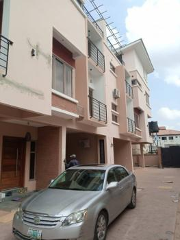 New 3 Bedrooms Terraced Duplex with Bq and Enough Packing, Julie Estate, Oregun, Ikeja, Lagos, Terraced Duplex for Rent
