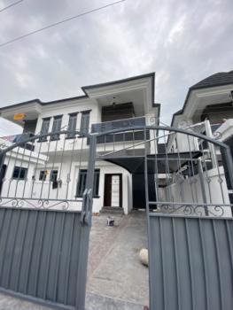 Brand New 4 Bedrooms Semi-detached Duplex, Opposite The Chevron Tollgate, Lafiaji, Lekki, Lagos, Semi-detached Duplex for Rent