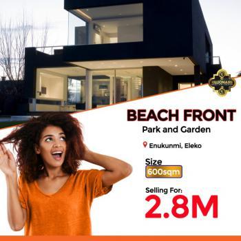 Beachfront Estate, Enukunmi Town, Off Eleko Road, Ibeju-lekki,  Few Minutes From Eleko Be, Eleko, Ibeju Lekki, Lagos, Land for Sale