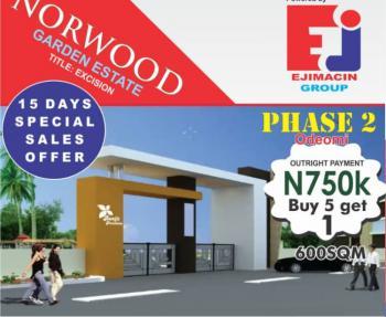 Estate Land, After Lacampagne Resorts, Eleko, Ibeju Lekki, Lagos, Residential Land for Sale