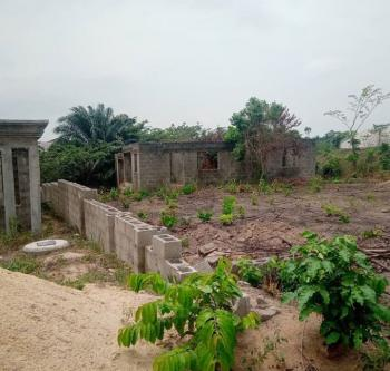 Two Units of 2 Bedroom Carcass on a Full Plot of Land, Ibeshe, Ikorodu, Lagos, Residential Land for Sale