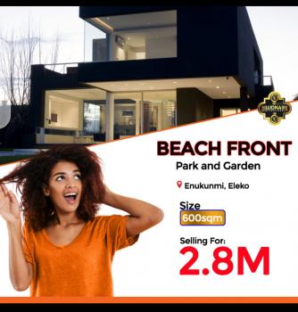 Beachfront Estate Facing The Beach, Facing The Beach at Eleko Beach Road, Eleko, Ibeju Lekki, Lagos, Residential Land for Sale