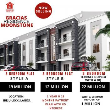Captivating 3 Bedroom Apartment Epistle with Mind-blowing Fitting, Free Trade Zone, Okunraiye, Ibeju Lekki, Lagos, Block of Flats for Sale