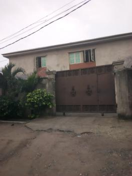 Upstair, 3 Bedrooms Flat (spacious and Tiled), Off Down Daddy Savage Street, Fagba, Agege, Lagos, Flat for Rent