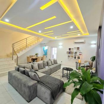 Luxury 3 Bedroom Terraced Duplex with Bq in a Serene and Gated Estate, Abijo, Lekki, Lagos, Terraced Duplex for Sale