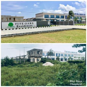 Five Oaks Residences, Directly Facing The Eleko Road Before Amen Estate, Eleko, Ibeju Lekki, Lagos, Residential Land for Sale