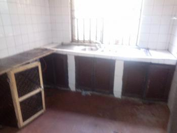 One Bedroom Bq with Two Toilets on a Tarred D Road, Mabuchi, Abuja, Mini Flat for Rent