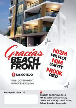 Gracias Beach Front Estate, Sangotedo, Sangotedo, Ajah, Lagos, Residential Land for Sale