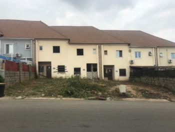 Luxury 3 Bedroom Duplex (carcass), Naf Valley Estate, Asokoro District, Abuja, Terraced Duplex for Sale