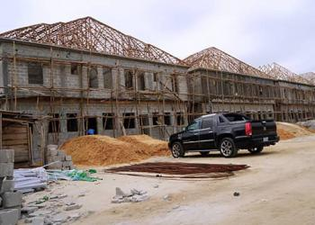 Tastfully Finished & Luxury 4 Bedroom Semi Detached Duplex with a Rlbq, Ikota, Lekki, Lagos, Terraced Duplex for Sale