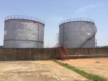 Tank Farm (fuel Depot), Kubwa Express Way, Mpape, Abuja, Tank Farm for Sale