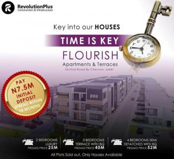 Luxury 2 Bedroom Apartment., Orchid, Lekki Phase 2, Lekki, Lagos, Block of Flats for Sale