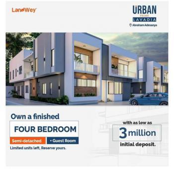Urban Prime Lavadia, Lekki Expressway, Lekki, Lagos, Semi-detached Bungalow for Sale