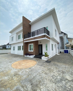 Brand New 4 Bedroom Fully Detached Duplex with Bq and Swimming Pool., Lekki County Estate, Chevron Toll Gate., Ikota, Lekki, Lagos, Detached Duplex for Sale