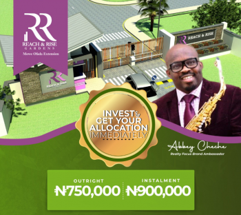 Rich and Rise Gardens, Along Papalanto Road, Mowe Ofada, Ogun, Residential Land for Sale