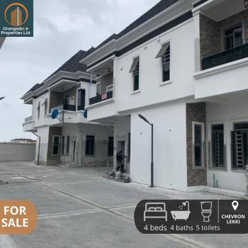 Lovely 4 Bedroom Semi Detached with Bq in Chevron Axis(oral Estate), Oral Estate, Lekki Phase 2, Lekki, Lagos, Semi-detached Duplex for Sale