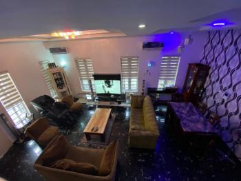 4 Bedrooms Exquisitely Finished Duplex with a Room Bq, Osapa, Lekki, Lagos, Semi-detached Duplex for Rent