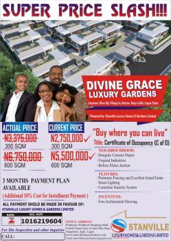 C of O Land., Divine Grace Luxury Garden Okun Ojeh Village By Alatise., Alatise, Ibeju Lekki, Lagos, Residential Land for Sale