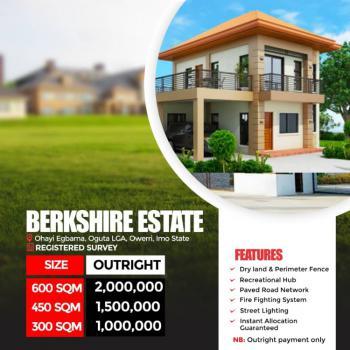 Landed Property, Oguta Lga, Ohaji/egbema, Imo, Residential Land for Sale