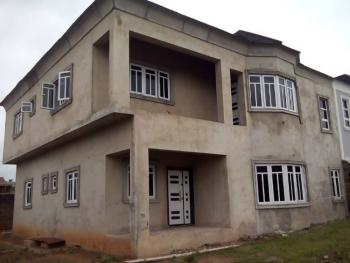 Uncompleted 4 Bedroom Wing of Duplex., Durosaro Street, Adabeji, Oluyole Estate Extension., Ibadan South-west, Oyo, Detached Duplex for Sale