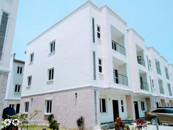 Serviced Luxurious 4 Bedroom Terrace House with Bq, Lekki Phase 1, Lekki, Lagos, Terraced Duplex for Sale