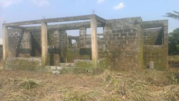 an Uncompleted 4 Bedroom Bungalow at Lintel Level on a Full Plot of Land., Konifewo Community, Off Ilogbo Road, From Ojuore Along Gas Line., Otta, Ado-odo/ota, Ogun, Detached Bungalow for Sale