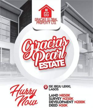 Land, Ise, Gracias Pearl Estate, Folu Ise, Ibeju Lekki, Lagos, Residential Land for Sale