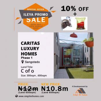 Land, Sangotedo, Caritas Luxury Homes, Lekki, Lagos, Mixed-use Land for Sale