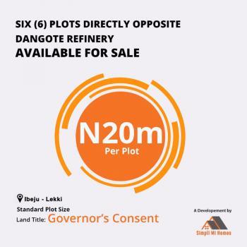 Simpli Mi Homes, Opposite Dangote Refinery, Ibeju Lekki, Lagos, Mixed-use Land for Sale