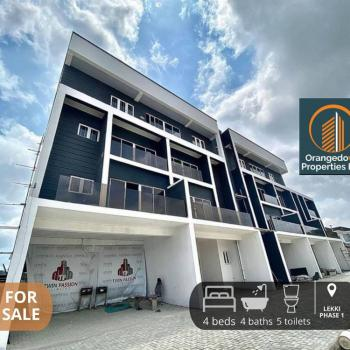 Newly Built 4 Bedroom Terrace Duplex with Bq in Lekki Phase 1, Lekki Phase 1, Lekki, Lagos, Terraced Duplex for Sale