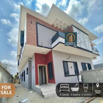 Superb 4 Bedroom Semi Detached Duplex, Osapa, Lekki, Lagos, Semi-detached Duplex for Sale