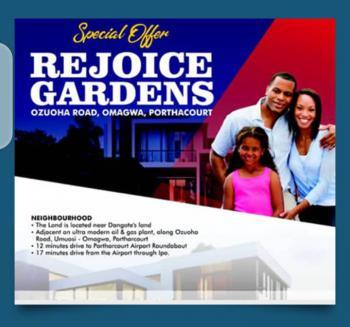 Lands, Omagwa, Port Harcourt, Rivers, Land for Sale