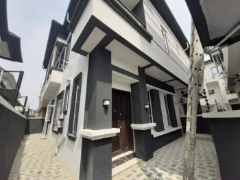Newly Built 4 Bedroom Duplex with Bq, Canal West Estate, Osapa, Lekki, Lagos, Semi-detached Duplex for Sale
