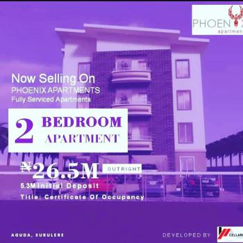 Beautiful Fully Serviced 2 Bedroom Apartment with Bq, Aguda, Surulere, Lagos, Block of Flats for Sale