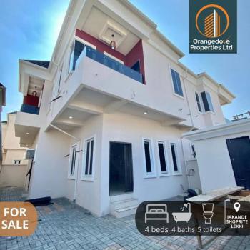 Very Spacious 4 Bedrooms Semi-detached Duplex with Bq By Jakande Lekki, Jakande, Lekki, Lagos, Semi-detached Duplex for Sale