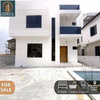 5 Bedroom Detached Duplex with Massive Living Room, Lekki County, Ikota, Lekki, Lagos, Detached Duplex for Sale