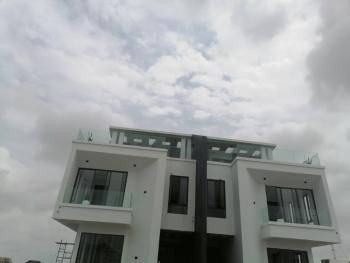 Magnificent Luxuriously Finished 5 Bedroom Semi-detached Duplex + B/q, Cowrie Creek, Nicon Town, Lekki, Lagos, Semi-detached Duplex for Sale