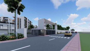 Off Plan House., Gardens, Ilupeju, Lagos, Flat for Sale